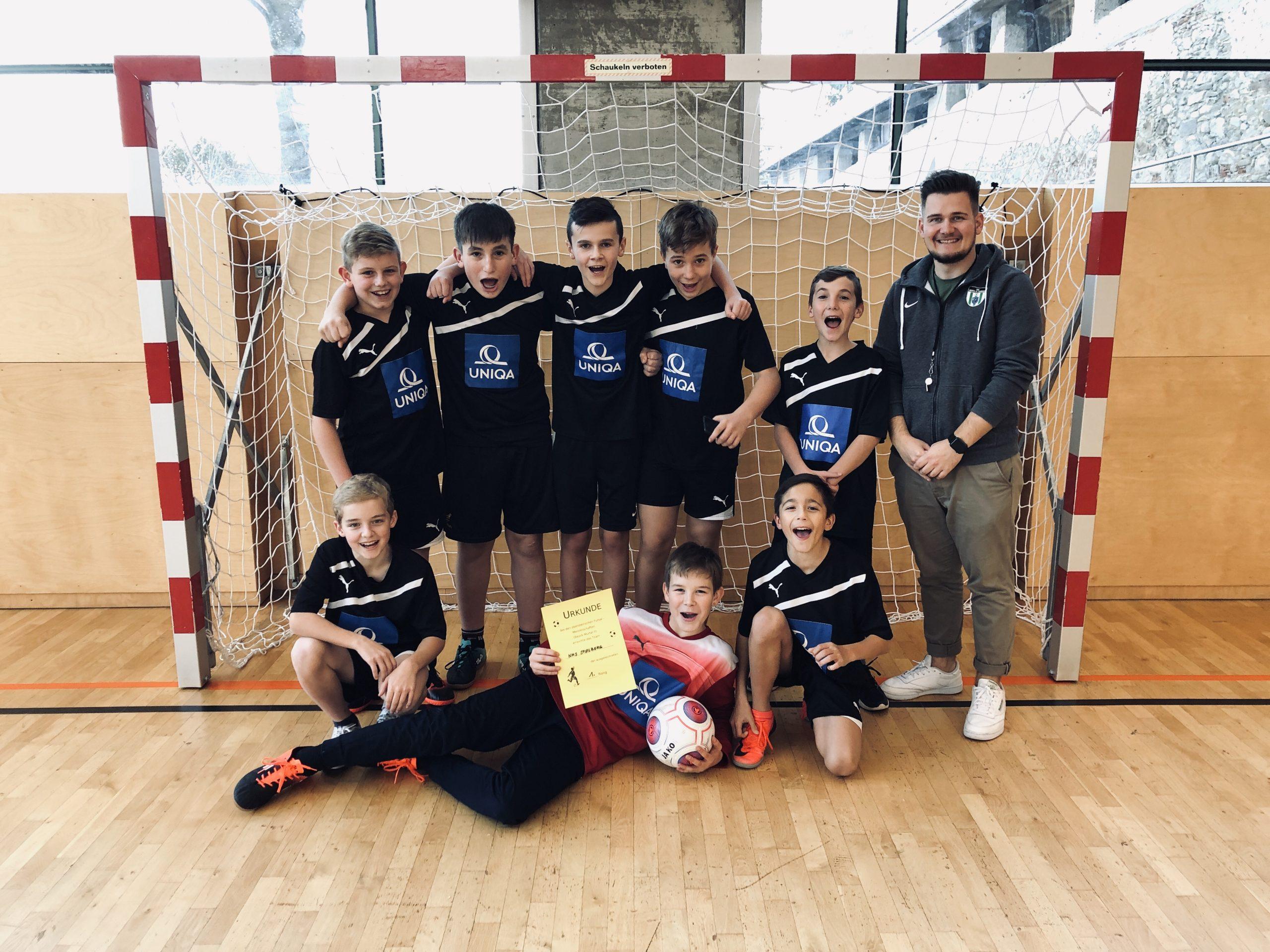 1. Platz beim Futsal Turnier