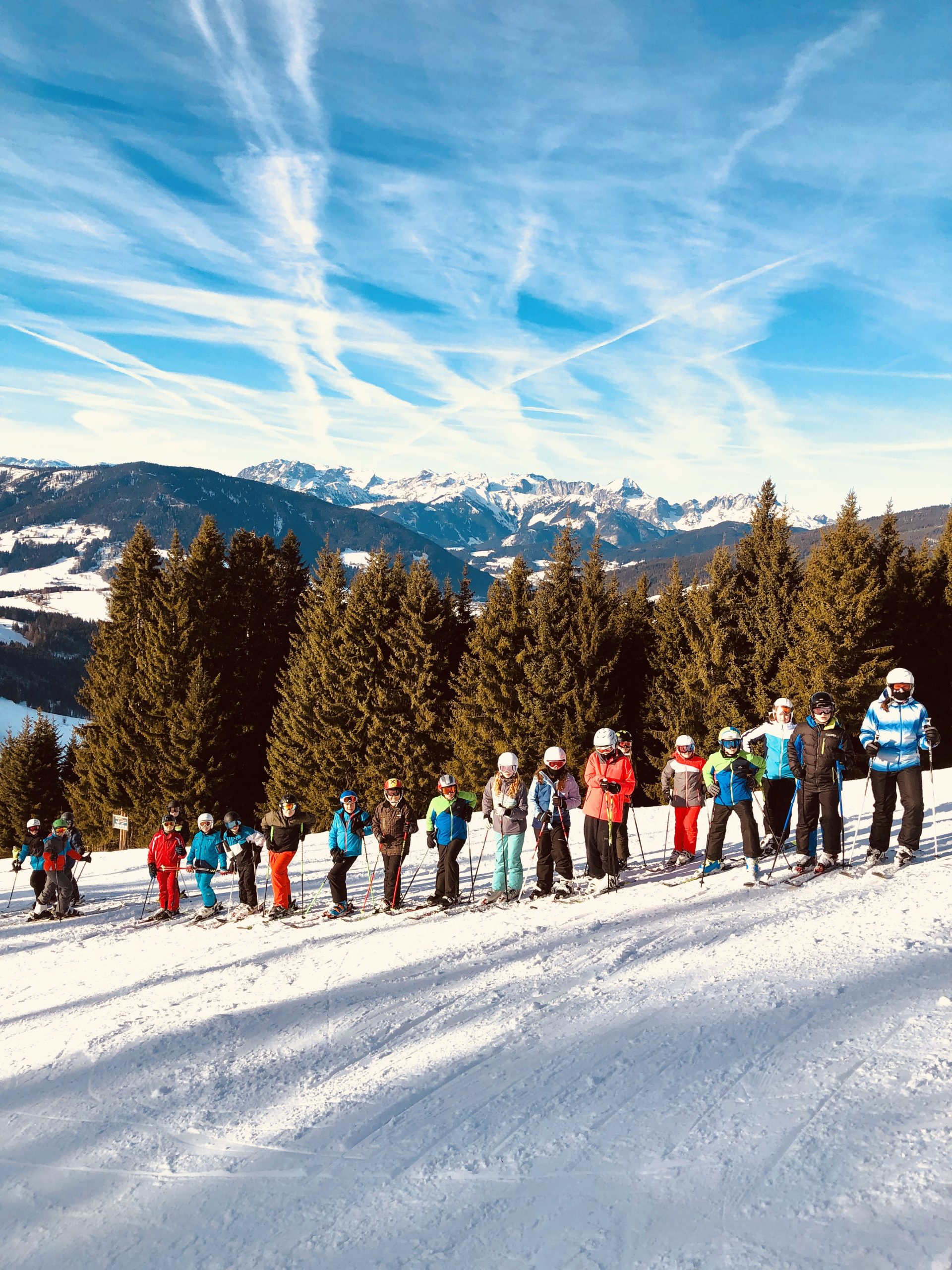 Skikurs der 2. Klassen